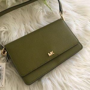 Michael Kors Phone Leather Crossbody Bag